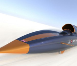 Land speed record kept on track - Bloodhound SSC