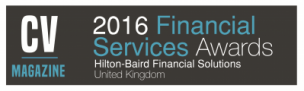 Financial Services Firm of the Year 2016
