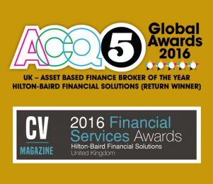 Double award win for Hilton-Baird Financial Solutions