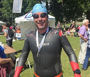 Alex Hilton-Baird Thames Marathon Swim