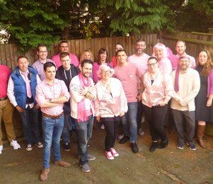 Staff raise over £2,000 for Breast Cancer Care