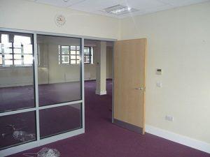 Woollen Hall - Second floor before