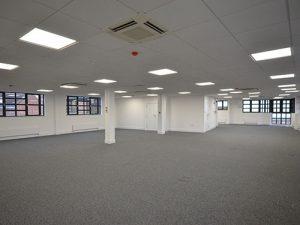 Woollen Hall - Second floor now