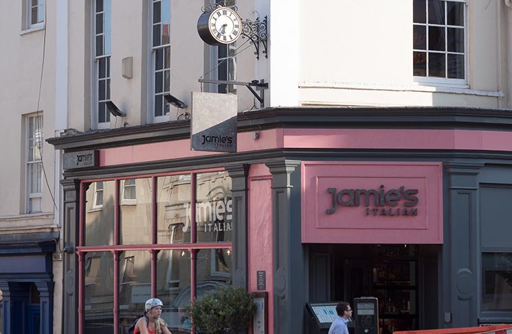 Jamie Oliver's restaurant